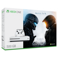 Xbox One S 500GB + Halo 5: Guardians