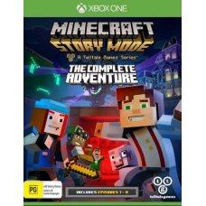 Ваучер на скачивание Minecraft: Story Mode - The Complete Adventure (Xbox One) RUS