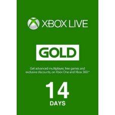 Xbox Live Gold 14 дней