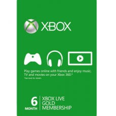 Xbox Live Gold 6 месяцев