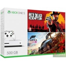 Xbox One S 500GB + Forza Horizon 4 + Red Dead Redemption 2
