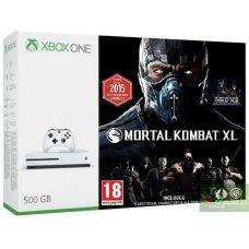 Xbox One S 500GB + Mortal Kombat XL