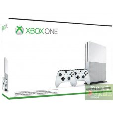 Xbox One S 1TB + 2 Controller Bundle