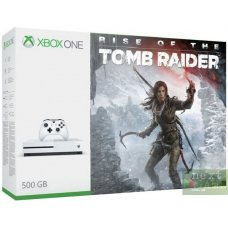 Xbox One S 500GB + Rise of the Tomb Raider