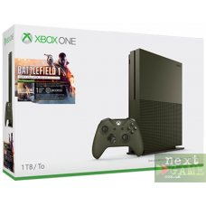 Xbox One S 1TB Military Green + Battlefield 1