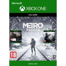 Ваучер на скачивание Metro Exodus + Metro: Last Light Redux + Metro 2033 Redux (Xbox One) RUS