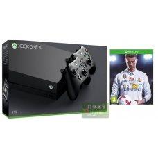 Xbox One X 1TB + Controller + FIFA 18