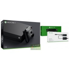 Xbox One X 1TB + Kinect 2.0 + Adapter Kinect