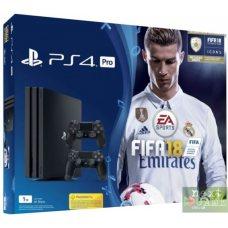 Sony Playstation 4 PRO 1Tb + Fifa 18 + DualShock 4