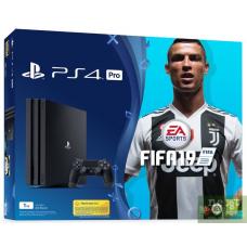 Sony Playstation 4 PRO 1Tb + Fifa 19