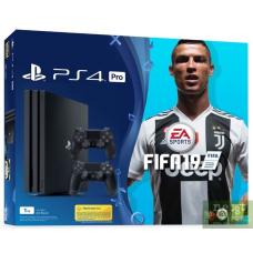 Sony Playstation 4 PRO 1Tb + Fifa 19 + DualShock 4