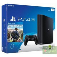 Sony Playstation 4 PRO 1Tb + Watch Dogs 2
