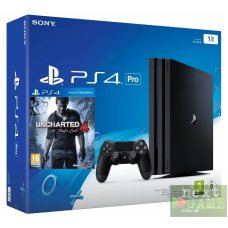 Sony Playstation 4 PRO 1Tb + Uncharted 4