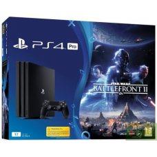 Sony Playstation 4 PRO 1Tb + Star Wars: Battlefront II