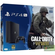 Sony Playstation 4 PRO 1Tb + Call of Duty: WWII