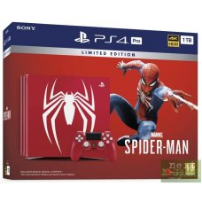 Sony Playstation 4 PRO 1Tb Spider-Man Limited Edition + Marvel Spider-Man