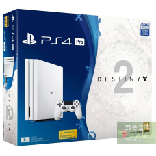 Sony Playstation 4 PRO 1Tb White + Destiny 2