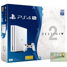 Sony Playstation 4 PRO 1Tb White + Destiny 2