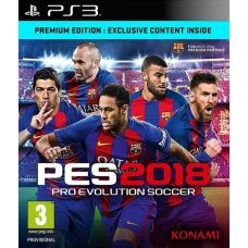 Pro Evolution Soccer 2018 (PS3) RUS SUB