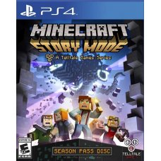 Minecraft: Story Mode  (PS4) RUS