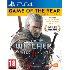 The Witcher 3: Game of the Year Edition  (PS4) RUS SUB