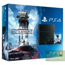 Sony PlayStation 4 500GB + Star Wars: Battlefront