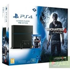 Sony PlayStation 4 1ТВ + Uncharted 4: A Thief's End