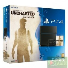 Sony PlayStation 4 500GB + Uncharted Nathan Drake Collection