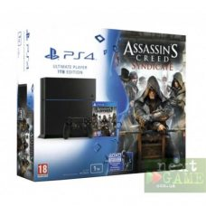 Sony PlayStation 4 1ТВ + Assassin's Creed: Syndicate