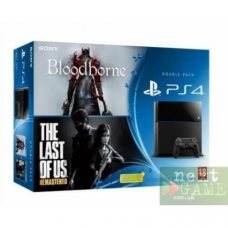 Sony PlayStation 4 500GB + Bloodborne + The Last of Us