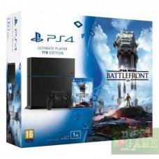 Sony PlayStation 4 1ТB + Star Wars: Battlefront