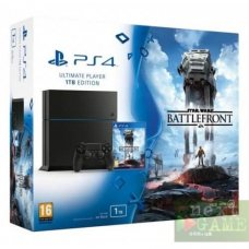 Sony PlayStation 4 1ТB + Star Wars: Battlefront