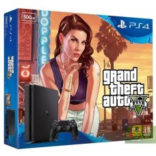 Sony PlayStation 4 Slim 500GB + Grand Theft Auto V