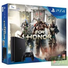 Sony PlayStation 4 Slim 1TB + For Honor
