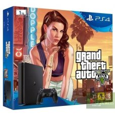 Sony PlayStation 4 Slim 1TB + Grand Theft Auto V