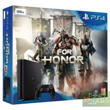 Sony PlayStation 4 Slim 500GB + For Honor