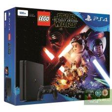 Sony PlayStation 4 Slim 500GB + LEGO Star Wars: The Force Awakens