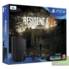 Sony PlayStation 4 Slim 500GB + Resident Evil 7: Biohazard