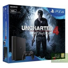 Sony PlayStation 4 Slim 500GB + Uncharted 4: A Thief's End