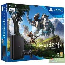 Sony PlayStation 4 Slim 500GB + Horizon: Zero Dawn