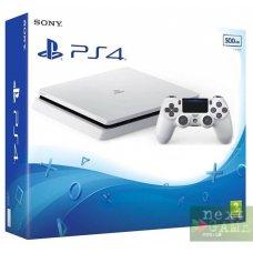 Sony PlayStation 4 Slim 500GB Glacier White