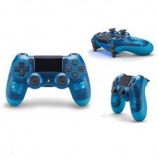 Джойстик DualShock 4 (Version 2) Crystal Blue (PS4)