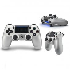 Джойстик DualShock 4 (Version 2) Silver (PS4)
