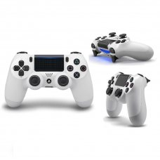 Джойстик DualShock 4 (Version 2) White (PS4)