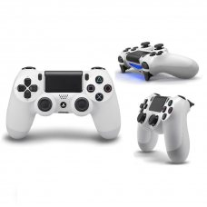 Джойстик DualShock 4 White (PS4)