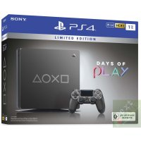 Sony Playstation 4 Slim 1Tb Limited Edition Days of Play Gray