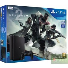 Sony PlayStation 4 Slim 500GB + Destiny 2