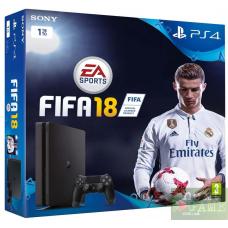 Sony PlayStation 4 Slim 1TB + FIFA 18