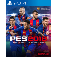 Pro Evolution Soccer 2018 (PS4) RUS SUB