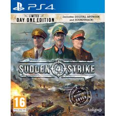 Sudden Strike 4 Limited Edition (PS4) RUS